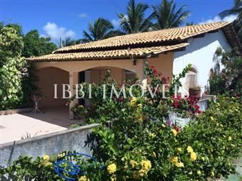 Casa Com Bela Vista Frontal Da Praia