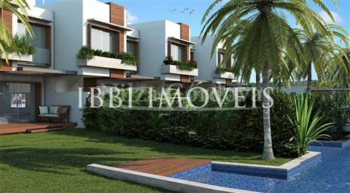 Houses In Luxurious Condominium 150m From The Beach.